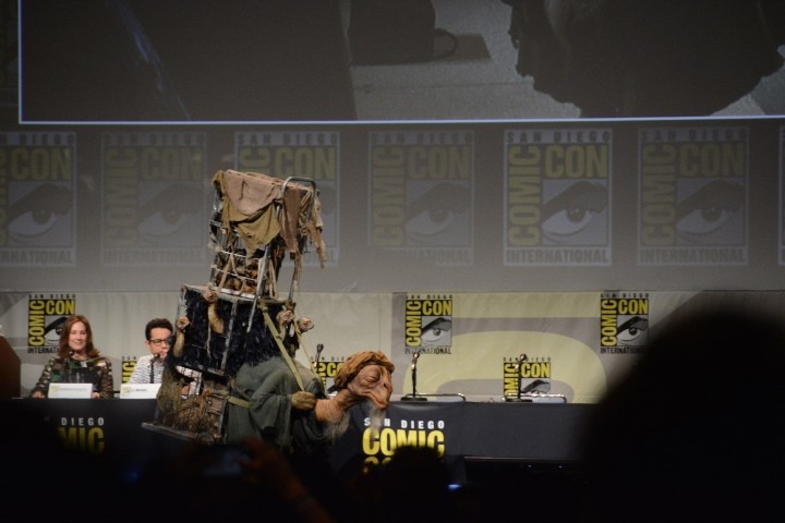 Star Wars The Force Awakens SDCC 2015 Panel