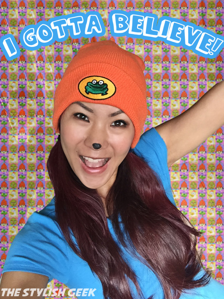 Parappa the Rapper Cosplay - I Gotta Believe