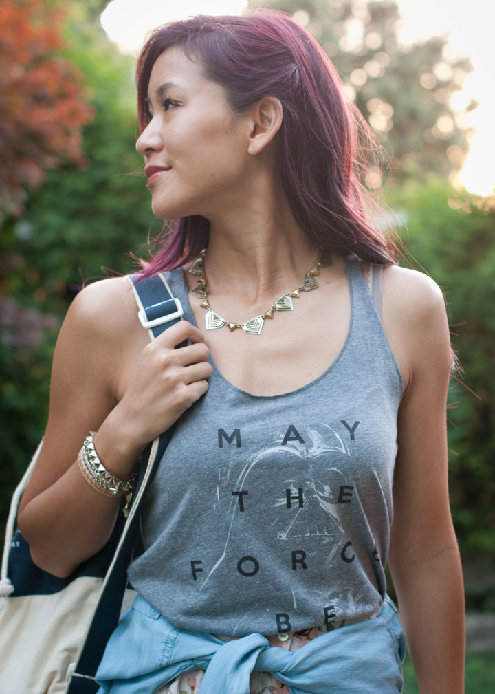 Fifth Sun May the force be with you tank top