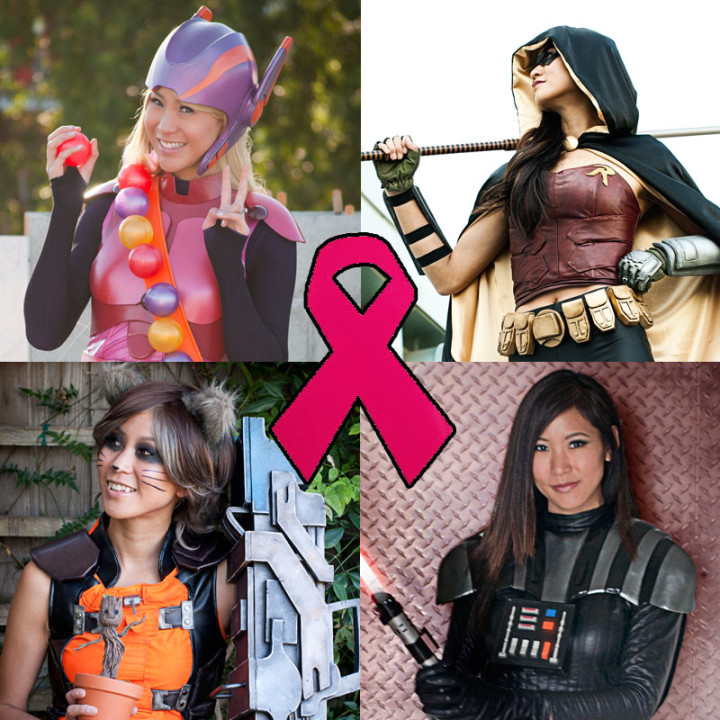 Cosplay prints for Breast Cancer Research