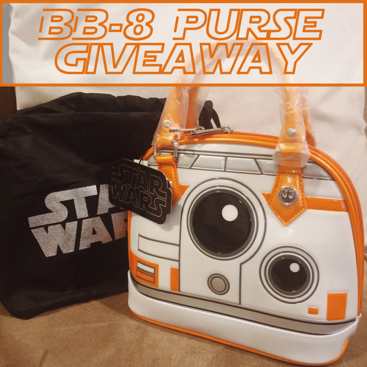 BB8 Loungefly Purse Giveaway