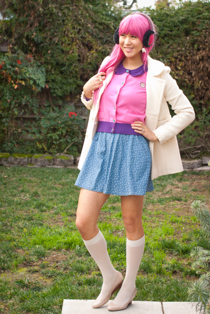We Love Fine Princess Bubblegum Cardigan Outfit