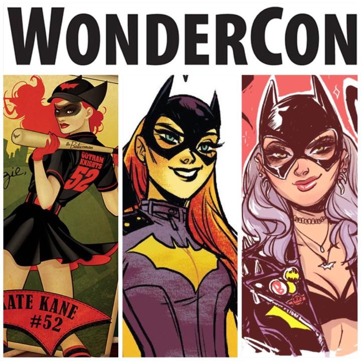 Batgirl Batwoman Wondercon cosplay lineup