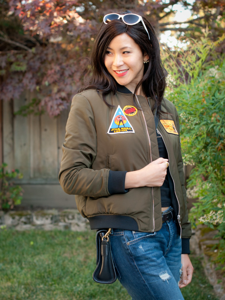 The Bomb: DIY Star Wars Bomber Jacket – the stylish geek