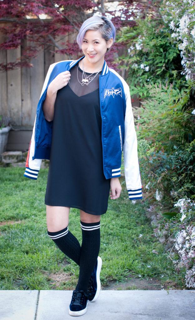 Batmanga Souvenir Jacket and Cami Dress