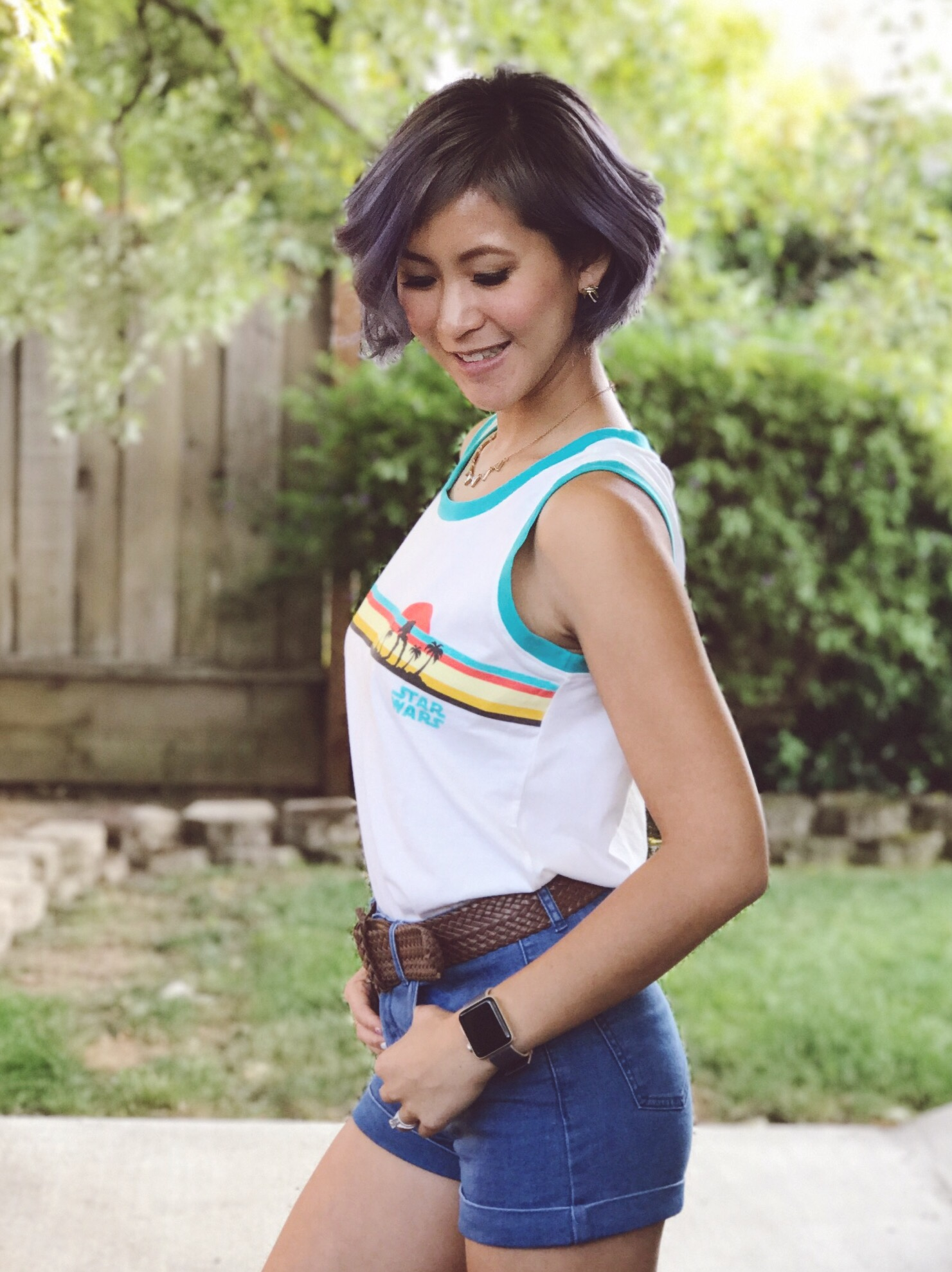 AT-ST Tropics Her Universe Tank Top Outfit