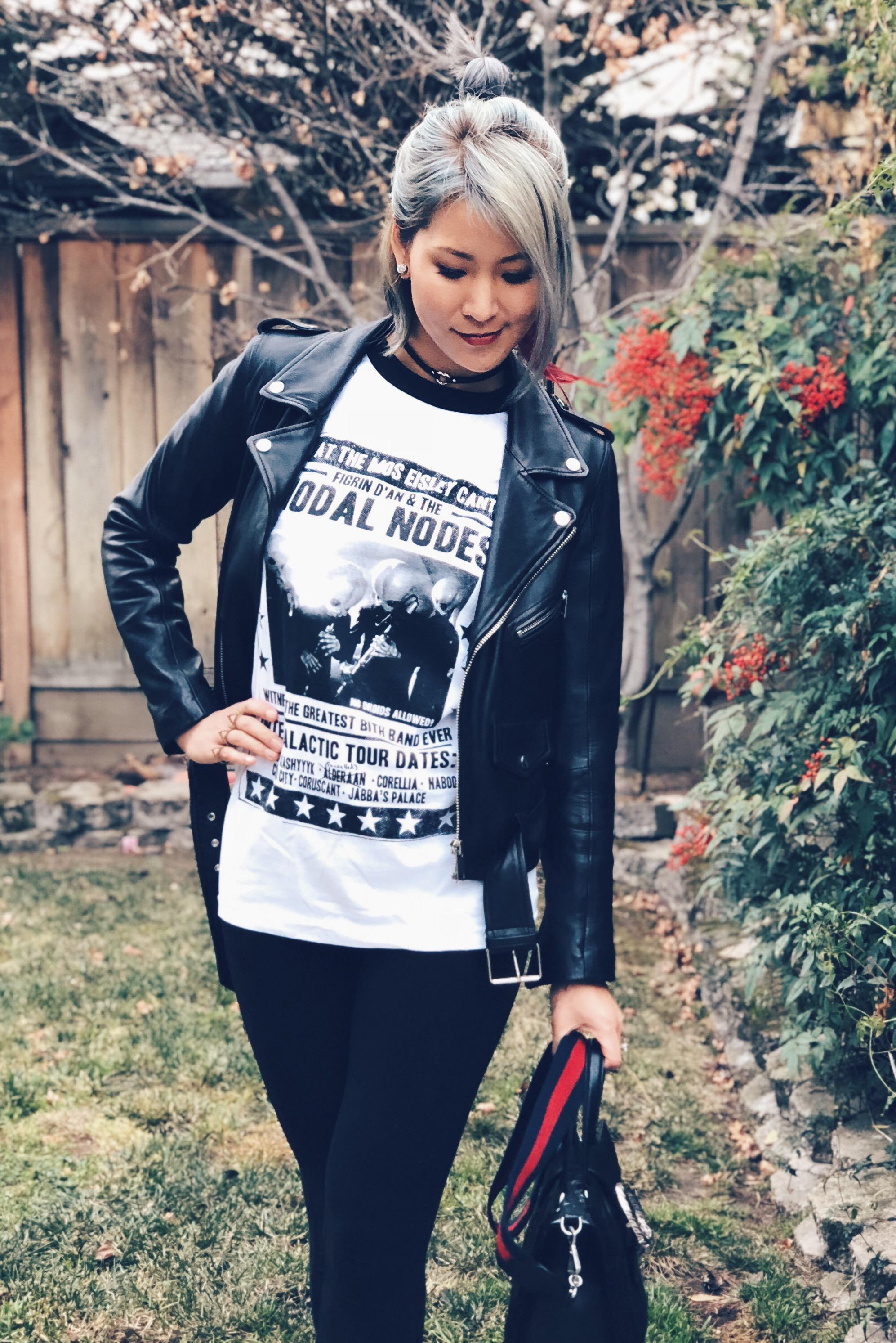 Modal Nodes Cantina Band Punk Concert outfit