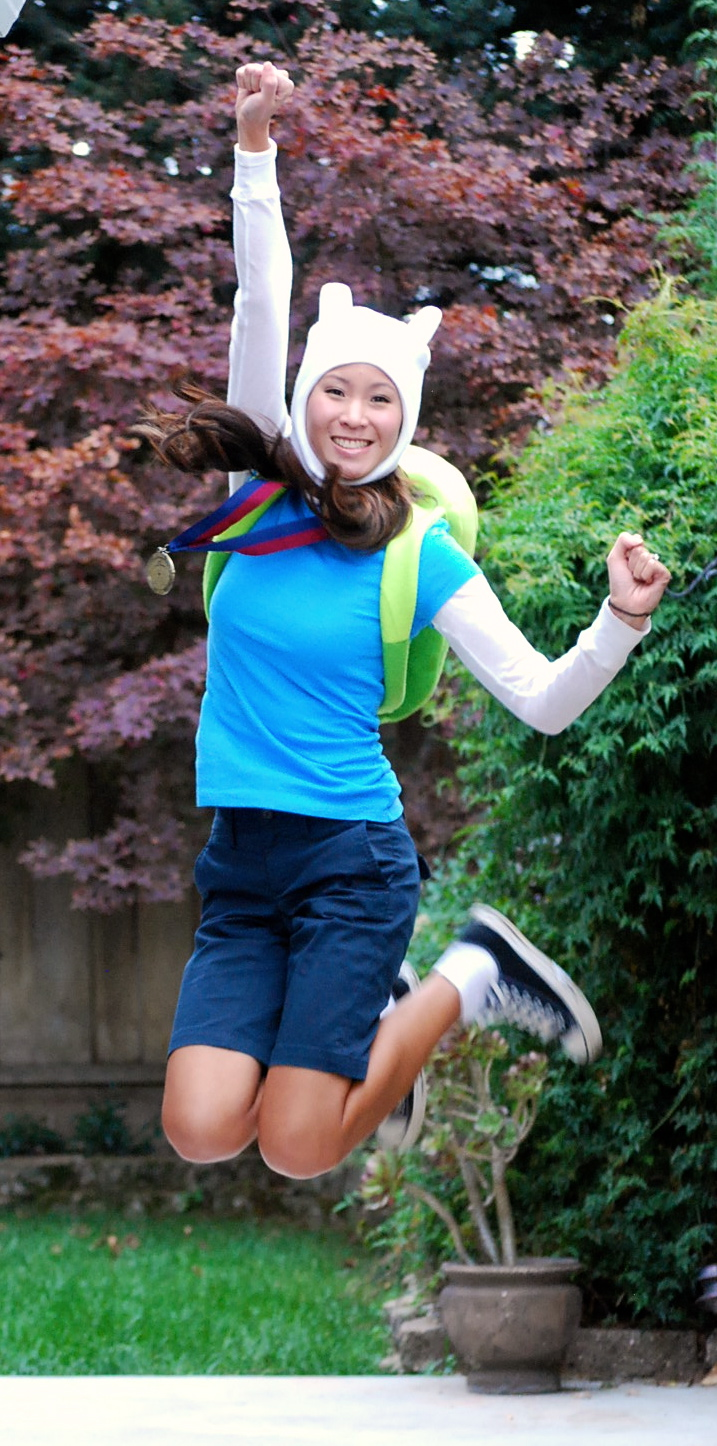 New Cosplay Adventure Time With Female Finn The Stylish