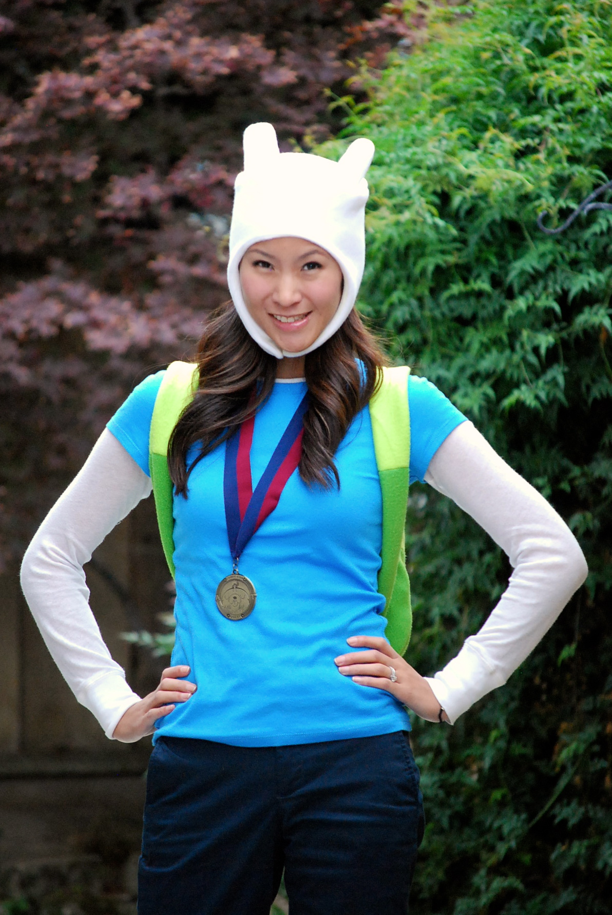 new cosplay! adventure time with female finn – the stylish geek